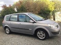 RENAULT GRAND SCENIC 7 SEATER DCI 2005 12 MONTHS MOT