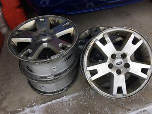 """17 inch Ford Explorer rims """"reduced"""" Peterborough Peterborough Area image 1"""