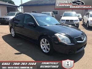 2007 Nissan Maxima SE 3.5L V6 LOADED  RUNS AND DRIVES EXCELLENT!