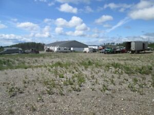 1.2 Acre Lot Graveled & Fenced for Lease