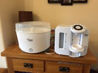 Tommee tippee steriliser and prep machine.