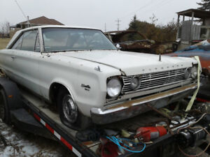 1966 Plymouth satellite PARTING OUT
