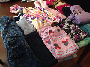 Lots of girl clothes  5T - all for $35