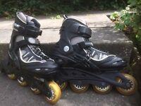 Inline skates/roller blades, size 7, VGC