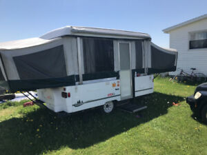 Coleman pop up trailer