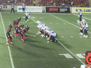 RED BLACK  AND  STAMPEDERS 2 tickets