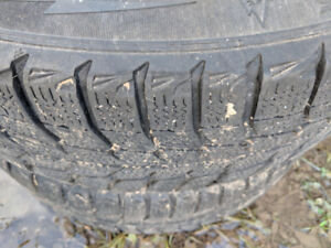 Snow tires for sale with rims!!