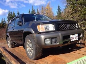 Parting out 02 Nissan Pathfinder 3.5l!!!