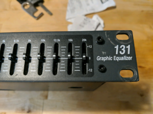 DBX 131 Graphic equalizer