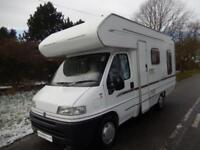 Deposit Taken Swift Lifestyle 590 RL 2001 4 Berth Rear L Shaped Lounge Motorhome