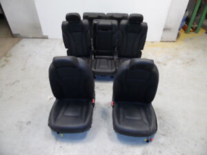 AUDI Q7 07 - 12 COMPLETE LEATHER SEATS FRONT REAR MIDDLE