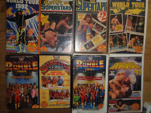 HUGE Wrestling Clearance Sale! WWE/TNA/WCW - VHS and DVD! London Ontario image 9