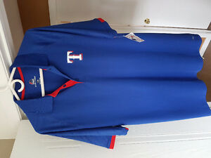 Texas Rangers Large Dry Fit Golf shirt