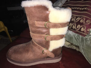 UGG Leather & Furr Boots