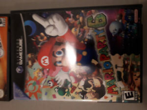 Mario party 6 and NBA street 3 gamecube