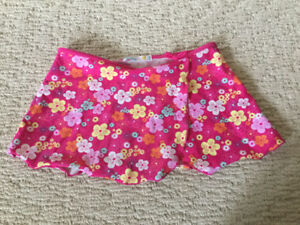 Bathing suit skirt for girl size 9/10