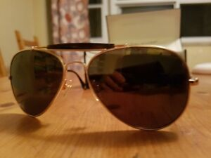 Polaroid Polarized Aviator Sunglasses