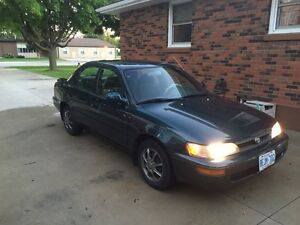 For Sale as is: 1993 Toyota Corolla