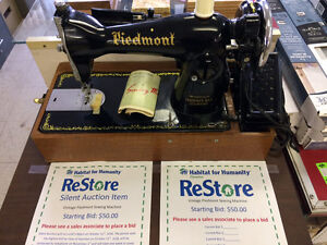 HFH ReStore EAST - Silent Auction Piedmont Sewing Machine