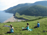 YOGA AND MEDITATION BACKPACKING ADVENTURE IN CAPE BRETON