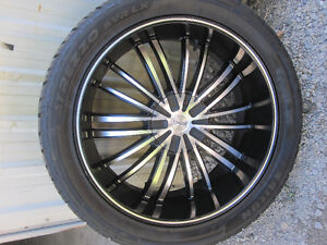 305-40-R22 DEEP DISH UNIVERSAL LIKE NEW THIS A STEAL Kitchener / Waterloo Kitchener Area image 2