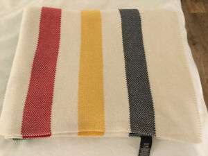 Hudson Bay Luxe Cotton Knit Throw
