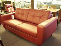 LEATHER Sofa & Loveseat tax included