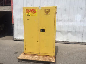 JAMCO LARGER FLAMMABLE STEEL SAFETY STORAGE CABINET