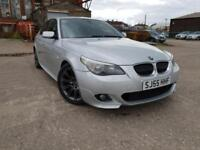 BMW 525D 2.5 M SPORT AUTOMATIC DIESEL,HPI CLEAR,LEATHER,P/SENSORS,CRUISE,ALLOYS