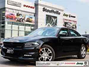 2017 Dodge Charger SXT AWD, With Only 10,100 KMS, Navi,