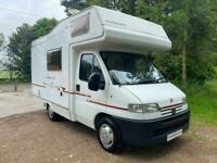 Compass Avantgarde 100 4 berth end kitchen coachbuilt motorhome for sale