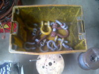 Container Of Large Lifting Shackles