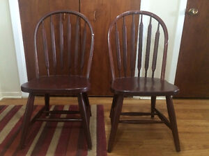 2 Kitchen Table Chairs