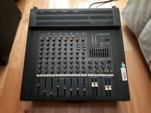 Roland PA-200 Powered Mixer + Monitors