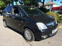 Vauxhall Meriva 1.6i 2007 48000 MILES Design HPI CLEAR INC WARRANTY WITH M.O.T