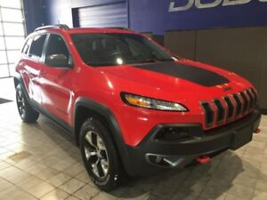 2017 Jeep Cherokee Trailhawk  Trailhawk 4X4 W\Leather,Backup Cam