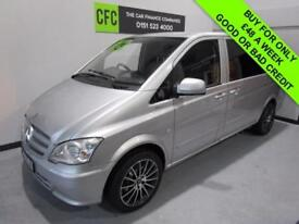 2012 MERCEDES-BENZ VITO 2.1 113 CDI B/E BUY FOR ONLY £48 A WEEK *FINANCE*