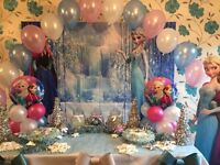 Frozen Party Princess Party,Party Box Bouncy Castle Hire for Birthday Christening & Special Occasion