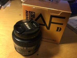 Super clean condition Nikon 50/1.4D