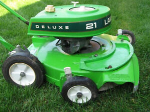 WANTED: Lawn Boy Lawnboy mowers only 2 stroke alloy deck
