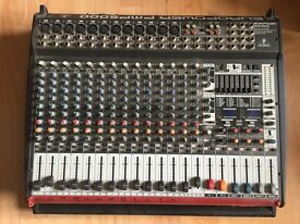 Behringer powered mixing desk