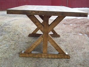 Reclaimed Harvest Tables