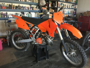 KTM 200 SX/modified for Trail