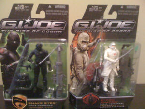 G.I. Joe Movie Snake eyes and Storm Shadow