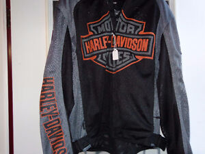 Harley jacket in large NEW -  recycledgear.ca