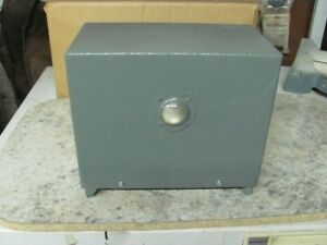 Electric fence box