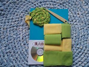 Amish knot / Toothbrush rag rug making kit