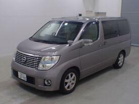 2009 (59) NISSAN ELGRAND XL 3.5 V6 Automatic 4x4 4WD MPV Sunroof Curtains NE51