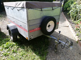 Caddy 535 trailer with extended sides