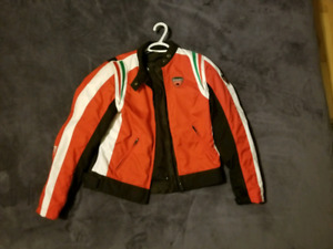 Ducati Dainese ladies jacket, armoured w/removable lining
